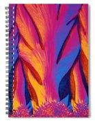 Vitamin E Crystals Spiral Notebook