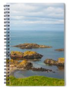 Volcanic Rock Formations In Ballintoy Bay Spiral Notebook