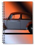 Volkswagon Bug Spiral Notebook