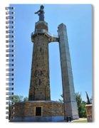 Vulcan Park Statue Birmingham Alabama Usa Spiral Notebook