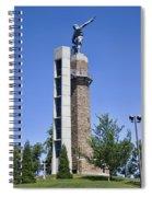 Vulcan Park Statue In Birmingham Spiral Notebook