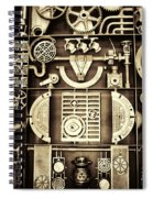 Vulcan Steel Steampunk Spiral Notebook