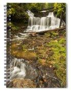 Wagner Falls 4 Spiral Notebook