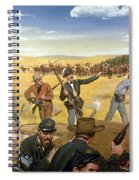 Wagon Box Fight, 1867 Spiral Notebook