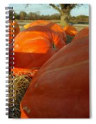 Wagon Ride For Pumpkins Spiral Notebook