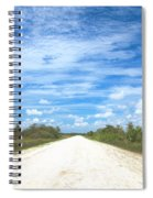 Wagon Wheel Road - 4 Spiral Notebook
