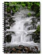 Wahkeena Falls Two Spiral Notebook