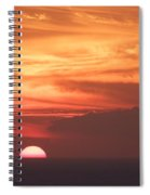 Waikiki Sunset No 4 Spiral Notebook