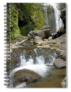 Wailua Falls And Rocks Spiral Notebook