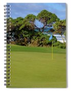 Wailua Golf Course - Hole 17 - 3 Spiral Notebook