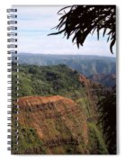 Waimea Canyon And Marshes Spiral Notebook