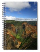 Waimea Canyon Landscape Spiral Notebook