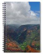 Waimea Canyon Spiral Notebook