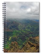 Waimea Canyon Weather Spiral Notebook