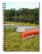 Waiting For One Last Summer Voyage Spiral Notebook