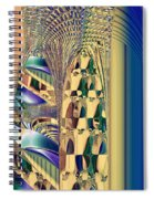 Waiting In The Sand Spiral Notebook