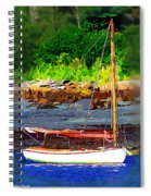 Waiting To Sail Spiral Notebook
