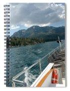 Wake Over Board Spiral Notebook