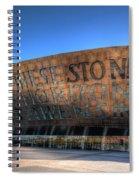 Wales Millenium Centre 3 Spiral Notebook