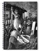 Wales: Rebecca Riots, 1843 Spiral Notebook