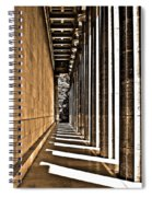 Walhalla Colonnade ... Spiral Notebook