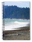 Walk On La Push Beach Spiral Notebook