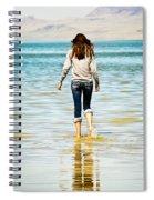 Walking Away 1 Spiral Notebook