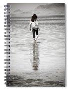 Walking Away 3 Spiral Notebook