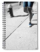 Walking Blues Spiral Notebook