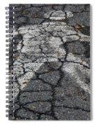 Walking Man Spiral Notebook