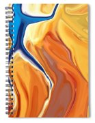 Walking On The Sun Spiral Notebook