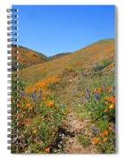 Walking Thru The Wildflowers Spiral Notebook