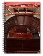 Piedras Blancas Lighthouse Staircase Spiral Notebook