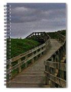 Walkway On Phillip Island Spiral Notebook