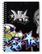 Wall Art 1 Spiral Notebook