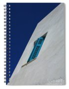 Wall Detail Mykonos Spiral Notebook