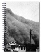 Wall Of Dust, Kansas, 1935 Spiral Notebook