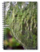 Wall Of Water Abstract Spiral Notebook