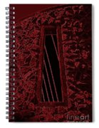 Wall To The Darkside Spiral Notebook