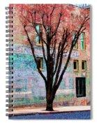 Wall Wth Secrets Spiral Notebook