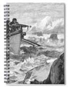 Walrus Hunt, 1875 Spiral Notebook