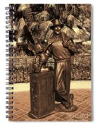 Walt And Mickey California Adventure Spiral Notebook