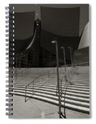 Walt Disney Concert Hall Spiral Notebook