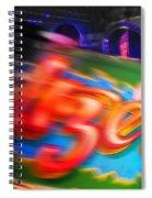 Waltzerblur Spiral Notebook