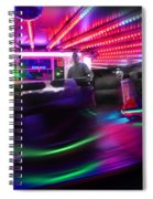 Waltzing Spiral Notebook