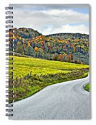 Wandering In West Virginia Spiral Notebook