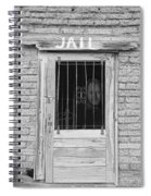 Wanted - Get Out Of Jail  Card  Spiral Notebook