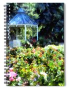 War Memorial Rose Garden 1  Spiral Notebook