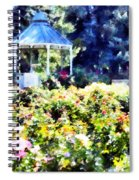 War Memorial Rose Garden  3 Spiral Notebook