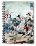 War Of 1812 Battle Of New Orleans 1815 Spiral Notebook